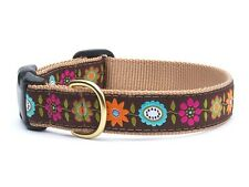 Any Size - Up Country - MADE IN USA - Design Dog Puppy Collar - Bella Floral