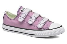 Kids's Converse Chuck Taylor All Star 3V Low rise Trainers in Pink