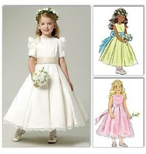 OOP Butterick Sewing Pattern 5705 UK Royal Wedding Kates Flower Girl Dress