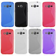 1x Ultra Soft S-line TPU Case Cover Skin For Samsung Galaxy Core LTE SM-G386F 4G