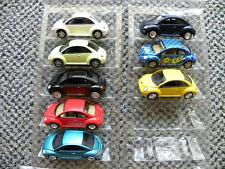 EIGHT DIFFERENT  VOLKSWAGEN NEW BEETLE    JOHNNY LIGHTNING VOLKSWAGEN    1:64
