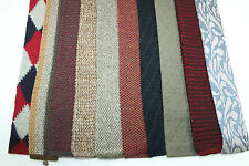 LOT OF 10 TRUNK TIES OF VARIOUS PATTERNS KNITTED  E28426