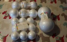 17 Pieces Polystyrene Balls/Sphere For Crafting 9 x 50mm, 6 x 65mm & 2 x 90mm