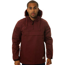 Crooks & Castles The Les Voleurs Anorak Jacket in Burgundy NWT CROOKS