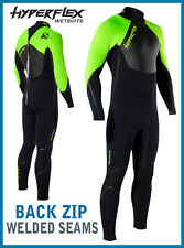 Mens Hyperflex VooDoo Wetsuit 3/2mm Back Zip Voo Doo Surfing Diving TOP LINE