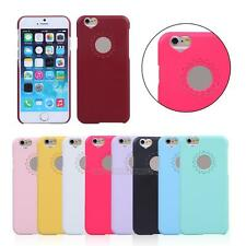UN3F  New Cute Sweet Peach Heart Ultra Thin Case Cover Skin for Apple iphone 6