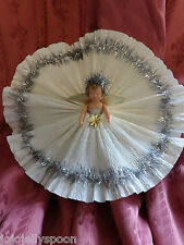 Vintage 1950s Fairy Angel Christmas Tree Decoration Ornament Topper Airfix Doll