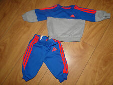Adidas baby boys tracksuit age 0 to 3 months