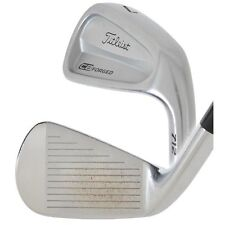 TITLEIST CB 712 FORGED 4-PW IRONS STIFF STEEL DYNAMIC GOLD S300 RH USED