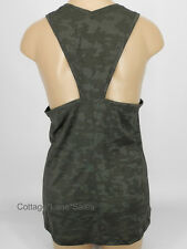 NEW LULULEMON Run For Days Tank Sz 6 10 Deep Camo NWT Yoga Run Gym FREE SHIP