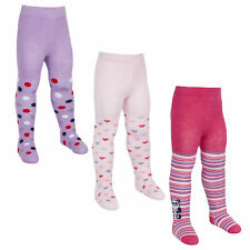 Tick Tock Baby Girls Cotton Rich Animal Design Tights