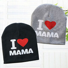 Cute Printing Family Toddler Infant Kids Baby Cotton Soft Warm Hat Beanie Cap
