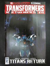IDW Comics: TRANSFORMERS: MORE THAN MEETS THE EYE #57 SEPTEMBER 2016 # 17I31