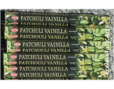 Hem Patchouli Vanilla Incense 20-40-60-80-100-120 Sticks You Pick Amount {:-)