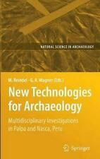 NEW New Technologies for Archaeology By Markus Reindel Hardcover Free Shipping