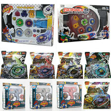 Beyblade 4D Metal Master Fusion Top Rapidity Fight Launcher Grip Set Toy Gaming