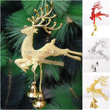 Xmas Christmas Tree Ornament Deer Chital Hanging Home Baubles Party Decoration