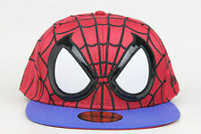 Spiderman The Amazing Spiderman Character Face Marvel New Era 59Fifty Fitted Hat