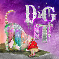 Marmont Hill - 'Dig It' by Connie Haley Painting Print on Wrapped Canvas