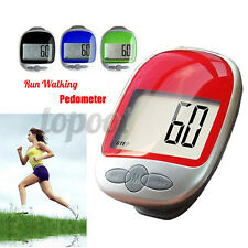 LCD Running Step Pedometer Waterproof Walking Distance Calorie Counter Pedomete