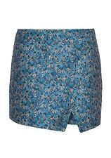 YUMI YOSS5 CROSS OVER TAILORED  SKIRT BLUE RRP £45.00 VAR SIZES