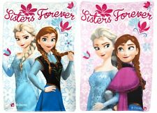 Frozen Fleece Blanket - Princess Anna Elsa Sisters Childrens Kids Girls Throw