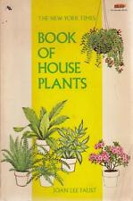 The New York Times, Book of House Plants - Joan Lee Faust - Acceptable - Pape...