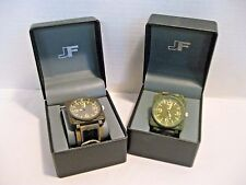 J Ferrar Men's Watch Camo Band Square Analog Face Your Choice of Color