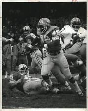 1973 Press Photo Detroit Lions Altie Taylor runs against San Francisco 49ers