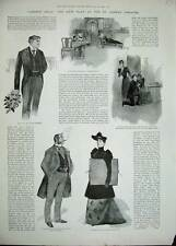 Antique Print 1892 Liberty Hall New Play St Jame'S Theatre Chilworth 113N168