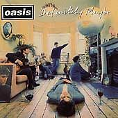 OASIS Definitely Maybe CD 1994 Epic Records Noel Gallagher's High Flying Birds