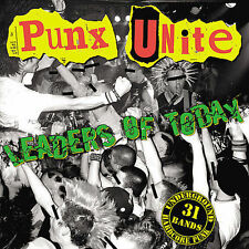PUNX UNITE: Leaders Of Today CD Side One Dummy Records Charged Casualties Unseen