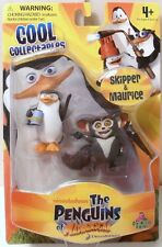 NICKELODEON THE PENGUINS OF MADAGASCAR SKIPPER & MAURICE FIGURES REALLY COOL!