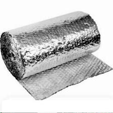 SILVER FOIL BUBBLE INSULATION 4 M LONG 750 WIDE CSIRO TESTED~ FREE SHIPPING
