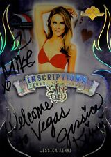 Jessica Kinni 2015 Bench Warmers Authentic Autograph Inscription Vegas Summit