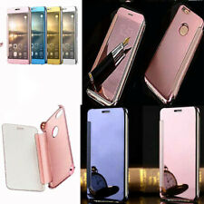 """Mirror Smart Clear View Wallet Flip Case Cover For iPhone 6 6S 6+ 7 4.7"""" 7+ 5.5"""""""