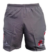 Olorun Welsh Warriors Supporters Shorts Grey/Red Size S-4XL