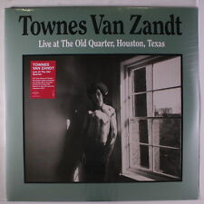 TOWNES VAN ZANDT: Live At The Old Quarter, Houston, Texas LP Sealed (Germany, 2
