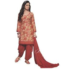 Ready Made Patiala Salwar Ethnic Printed Salwar Kameez Suit-AVC-Colours-2010