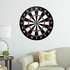 Dartboard Decal Black Kids Big Boys Bedroom Wall Decal Art Sticker Gift New