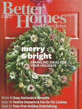 BETTER HOMES & GARDENS MAGAZINE ~ DEC 2013 ~ SPARKLING IDEAS FOR YOUR HOLIDAYS!