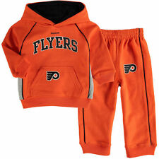 Reebok Philadelphia Flyers Infant French Terry Pant & Jacket Sweat Set - NHL