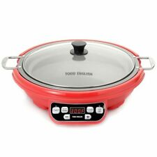 NEW Todd English 1800W Multi Purpose Induction Cooker - Red