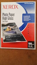XEROX PREMIUM QUALITY PHOTO HIGH GLOSS PAPER 20 SHEETS X 180GSM A4 PROFESSIONAL