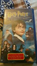 Harry Potter And The Philosopher's Stone (VHS/SUR, 2002)