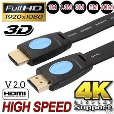 Premium HDMI Cable V2.0 For Bluray 3D 4K DVD PS3 HDTV XBOX LCD HD TV HD 1080P