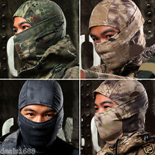 1PC Camouflage Army Cycling Motorcycle Cap Balaclava Cotton Hats Full Face Mask