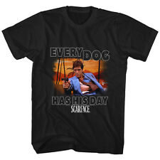 Scarface Gangster Crime Movie Al Pacino Every Dog Has His Day Adult T-Shirt Tee