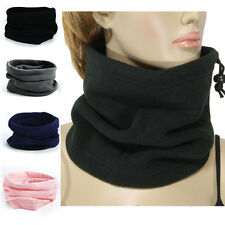 Fashion Snood Neck Winter Thermal Fleece Scarfs Full Function Unisex Beanie Hats