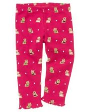 Gymboree Pups & Kisses Leggings 18-24 2T 3T Pink Yorkie Dog Puppy Pant Girls New